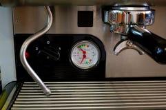 μηχανή λεπτομέρειας καφέ Στοκ Φωτογραφία