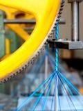 μηχανή λεπτομέρειας πλεξί& Στοκ φωτογραφία με δικαίωμα ελεύθερης χρήσης
