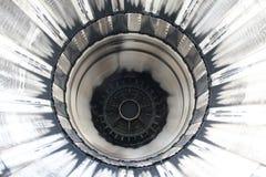 μηχανή μέσα στο αεριωθούμ&epsil Στοκ εικόνα με δικαίωμα ελεύθερης χρήσης