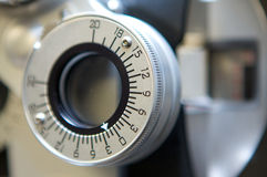 μηχανή ματιών προσοχής Στοκ φωτογραφία με δικαίωμα ελεύθερης χρήσης