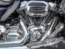 Μηχανή μοτοσικλετών στοκ εικόνες