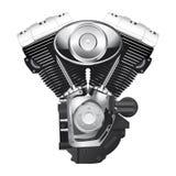 Μηχανή μοτοσικλετών Στοκ φωτογραφία με δικαίωμα ελεύθερης χρήσης