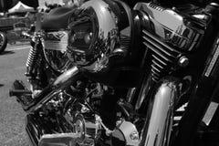 Μηχανή μοτοσικλετών Στοκ φωτογραφίες με δικαίωμα ελεύθερης χρήσης