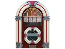 Μηχανή μουσικής rockola Jukebox στοκ εικόνα