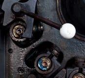 μηχανή μοχλών παλαιά Στοκ Εικόνες
