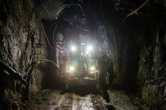 Μηχανή ορυχείου στοκ φωτογραφία