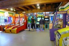 Μηχανή παιχνιδιών Στοκ εικόνα με δικαίωμα ελεύθερης χρήσης