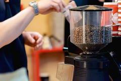 Μηχανή παρασκευής καφέ Στοκ Εικόνες