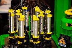 Μηχανή πλεξίματος στοκ φωτογραφία με δικαίωμα ελεύθερης χρήσης