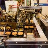 Μηχανή που κάνει Momiji Manjyu Στοκ Εικόνα
