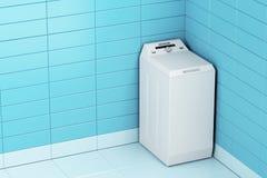μηχανή που καλύπτονται στενή επάνω στην πλύση Στοκ Εικόνα