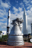 Μηχανή πυραύλων Στοκ Φωτογραφία