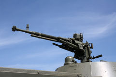 μηχανή πυροβόλων όπλων μια Στοκ φωτογραφία με δικαίωμα ελεύθερης χρήσης