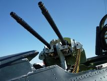 μηχανή πυροβόλων όπλων πιλ&omicr Στοκ Εικόνα