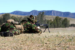 μηχανή πυροβόλων όπλων πυρ&kappa στοκ φωτογραφίες με δικαίωμα ελεύθερης χρήσης