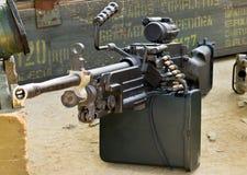 μηχανή πυροβόλων όπλων Στοκ Φωτογραφία