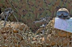 μηχανή πυροβόλων όπλων Στοκ Φωτογραφίες
