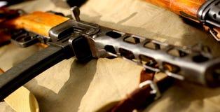 μηχανή πυροβόλων όπλων παλ&alph Στοκ Φωτογραφία