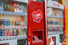 Μηχανή πώλησης, μη αλκοολούχο ποτό Στοκ Φωτογραφίες