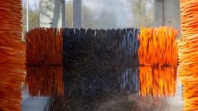Μηχανή πλυσίματος αυτοκινήτων σηράγγων Στοκ εικόνα με δικαίωμα ελεύθερης χρήσης