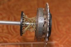Μηχανή στροφέων, αίνιγμα, Cipher μηχανή από το Δεύτερο Παγκόσμιο Πόλεμο στοκ εικόνα με δικαίωμα ελεύθερης χρήσης