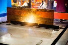 Μηχανή συγκόλλησης Στοκ εικόνα με δικαίωμα ελεύθερης χρήσης