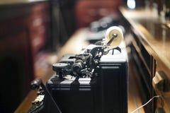 Μηχανή τηλετύπου Στοκ Φωτογραφίες
