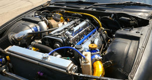 Μηχανή του αυτοκινήτου κλίσης Στοκ Εικόνα