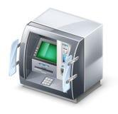 μηχανή του ATM Στοκ φωτογραφία με δικαίωμα ελεύθερης χρήσης