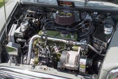 Μηχανή του Mini Cooper Στοκ Εικόνα