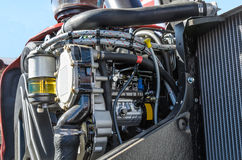 Μηχανή τρακτέρ Στοκ φωτογραφία με δικαίωμα ελεύθερης χρήσης