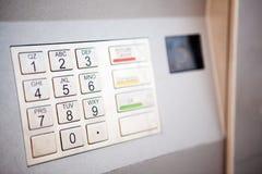 μηχανή τραπεζών Στοκ φωτογραφίες με δικαίωμα ελεύθερης χρήσης