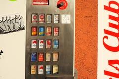 Μηχανή τσιγάρων Στοκ Εικόνες