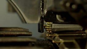 Μηχανή των καρφιών απόθεμα βίντεο