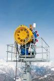 Μηχανή χιονιού Στοκ Εικόνα