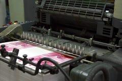 Μηχανή όφσετ Στοκ φωτογραφία με δικαίωμα ελεύθερης χρήσης