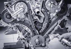 Μηχανή Στοκ Φωτογραφίες