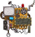 μηχανή ελεύθερη απεικόνιση δικαιώματος