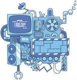 μηχανή 2 ελεύθερη απεικόνιση δικαιώματος