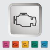 Μηχανή διανυσματική απεικόνιση