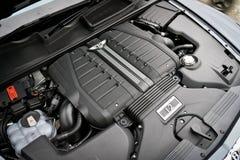 Μηχανή Bentayga Bentley W12 Στοκ φωτογραφίες με δικαίωμα ελεύθερης χρήσης