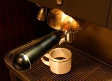 μηχανή cofee Στοκ εικόνες με δικαίωμα ελεύθερης χρήσης