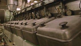 Μηχανή diesel σκαφών, έλεος της Αφρικής απόθεμα βίντεο