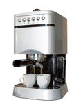 μηχανή espresso στοκ εικόνες
