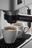 μηχανή espresso Στοκ εικόνες με δικαίωμα ελεύθερης χρήσης