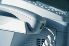 μηχανή fax Στοκ Εικόνες