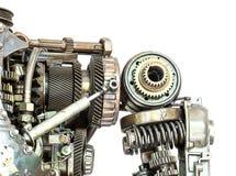 Μηχανή Grunge που απομονώνεται Στοκ φωτογραφία με δικαίωμα ελεύθερης χρήσης