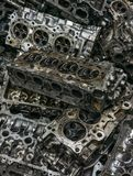 Μηχανή junkyard Στοκ Εικόνα