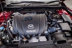 Μηχανή Mazda3 2016 Στοκ Φωτογραφίες