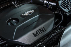 Μηχανή Mini Cooper S. στοκ εικόνες